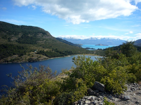 Lago Negro y Lago General Carrera