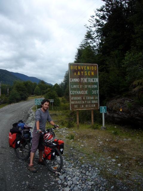 Límite entre Regiones de Los Lagos y Aysén
